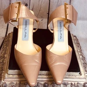 Bellini Ankle Strap Pumps 5.5